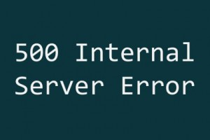WordPress Internal Server Error
