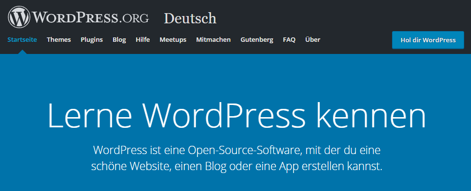 WordPress installieren, Version 5.1.1
